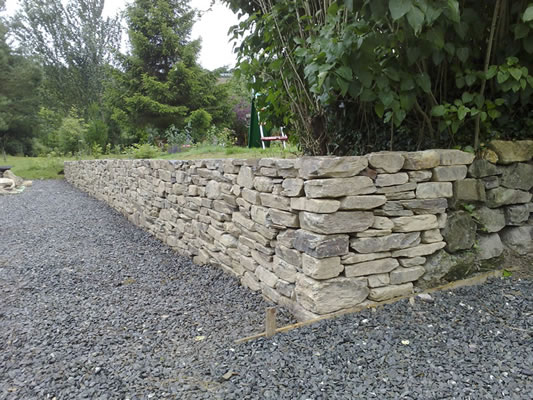 Dry Stone Wall.